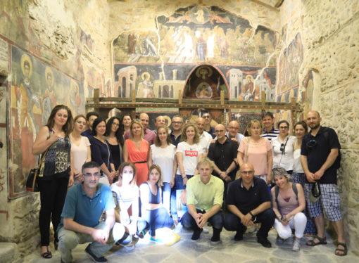 Ενημέρωση για την υλοποίηση εργασιών με επίκεντρο τον τουρισμό, που πραγματοποιήθηκαν στις 04 & 05 Ιουνίου στην Καστοριά και στις Πρέσπες
