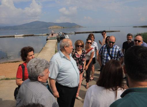 Επισκέψεις μελέτης στις Πρέσπες, στο πλαίσιο του έργου EPICAH